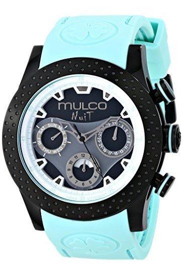 Mulco Mw5-1962-443 Reloj Analógico Azul De Cuarzo Suizo Unis
