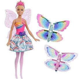 Barbie Dreamtopia Fada Asas Mágicas Mattel