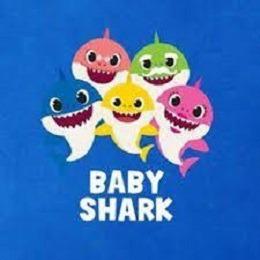 Baby Shark Pelúcia Bebê Tubarão 45 Cm Grande