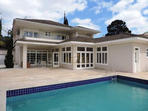 Imagem 1 de 30 de Casa Com 4 Dormitórios, 800 M² - Venda Por R$ 3.750.000,00 Ou Aluguel Por R$ 15.000,00/mês - Condomínio Estância Marambaia - Vinhedo/sp - Ca0810
