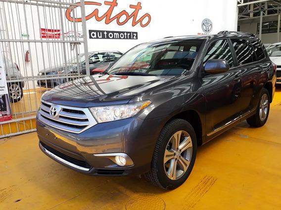 Toyota Highlander Premium Sport Piel 2011