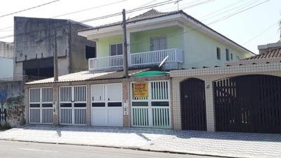 Casa Em Esplanada Dos Barreiros, São Vicente/sp De 60m² 2 Quartos À Venda Por R$ 255.000,00 - Ca221543