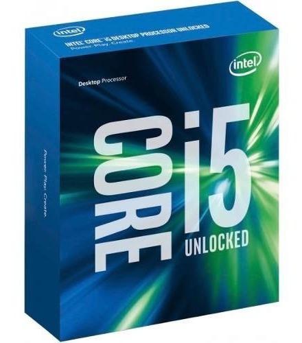 Processador Intel Core I5-6600k S1151 3.5ghz 6mb (s/cooler)