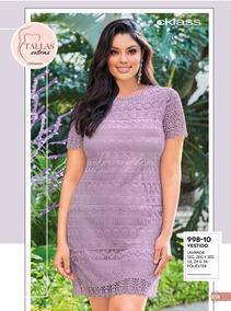 Oferta Vestido Curvy Cklass Lavanda Talla Extra 998-10 Pv19