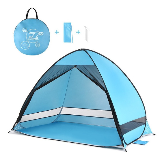 Outdoor Automatic Pop Up Beach Tent Cabana Anti Uv Fishing