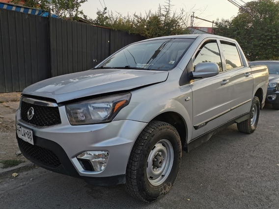 Ssangyong Actyon 4x4 2015 Full Petrolero