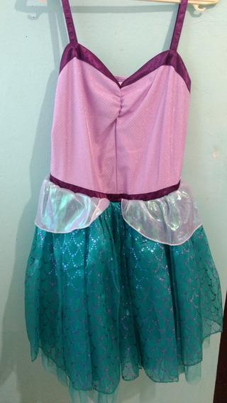 Disfraz De La Sirenita Ariel Niña-adolescente