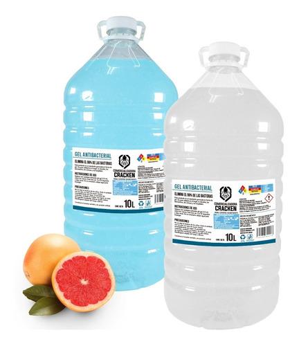 Imagen 1 de 10 de Gel Desinfectante Antibacterial Para Manos 10 Litros