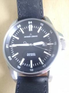 Reloj Automatico Jacques Lemans Mod Liverpool