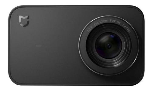 Imagem 1 de 3 de Câmera sportiva Xiaomi Mi Action Camera 4K YDXJ01FM preta