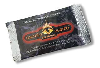 3x Card Game Terra Média - Middle Earth The Wizards Booster