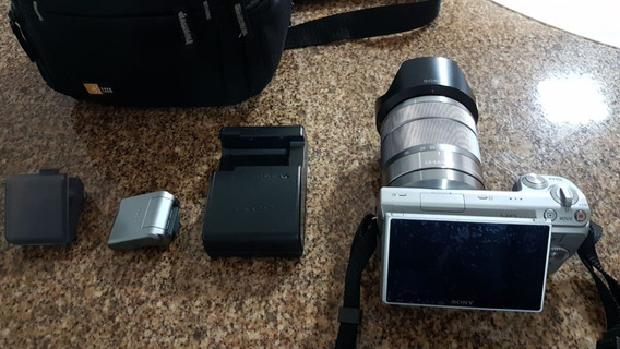 Câmera Sony Nex-5 - Lente 3.5-5.6/18-55 - Mochila Completa