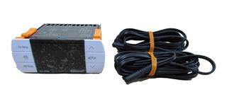 Combistato Elitech 3030 2 Sondas Descong Forzador Compresor