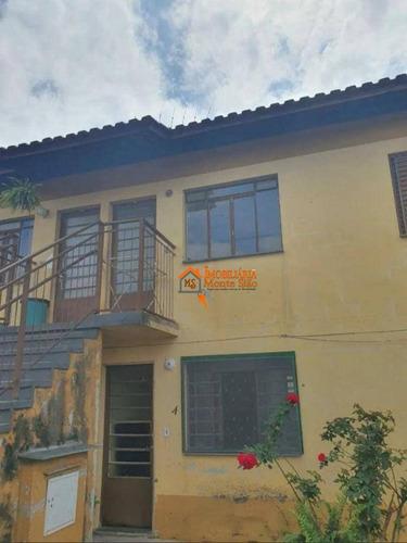 Imagem 1 de 14 de Casa Com 2 Dormitórios À Venda, 49 M² Por R$ 180.000,00 - Jardim Santo Expedito - Guarulhos/sp - Ca0541