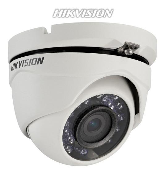 Camara De Seguridad Exterior Hd 720p Hikvision Domo Metalico