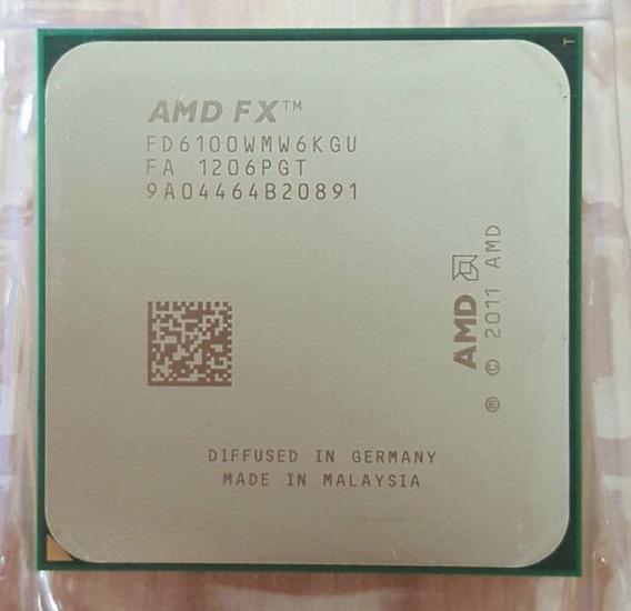 Processador Amd Fx 6100 Am3 Bulldozer