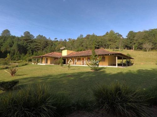 Chácara Com 4 Dormitórios À Venda, 20923 M² Por R$ 1.580.000,00 - Quatro Barras - Quatro Barras/pr - Ch0048