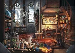 Rompecabezas Escape Ravensburger Dragón 759 Piezas