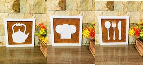 Quadros Decorativos Cozinha Restaurante Bar Promoção Present