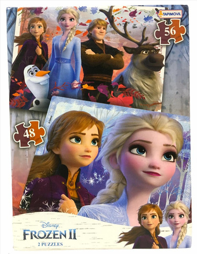 Imagen 1 de 9 de Puzzle Frozen 2 Rompecabezas Infantil Original 07845 Bigshop