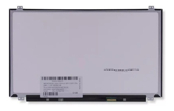 Tela Display 15.6 Led Slim 30 Pinos N156bga-ea2