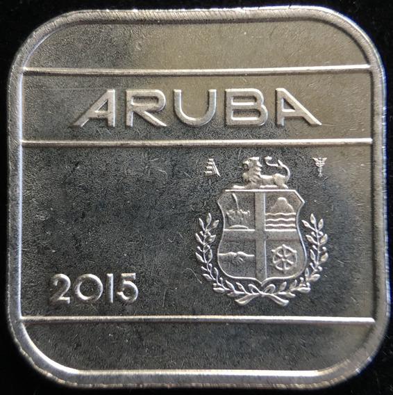 Aruba, 50 Cents, 2015. Sin Circular
