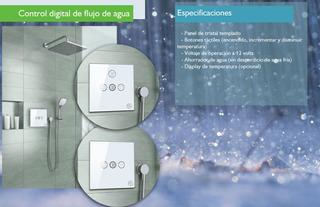 Mezclador Regadera Control De Temperatura Automático
