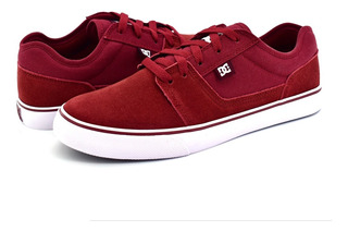 Tenis Para Caballero Dc Shoes Tonik Rojo Blanco Bur