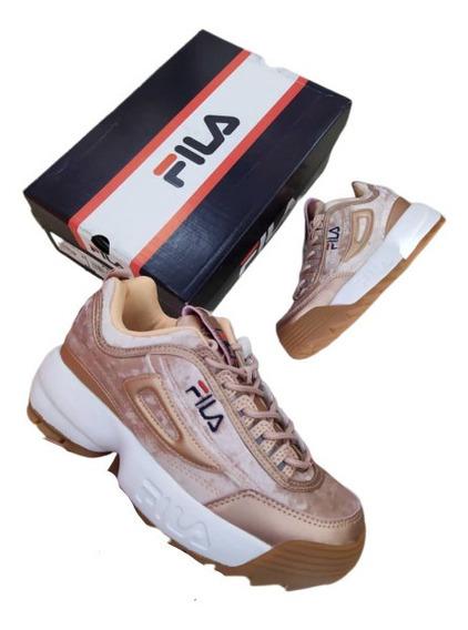 Fila Disruptor Dama Original Deportivos Tenis