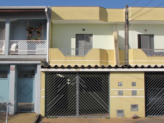 Casa Para Aluguel, 2 Quartos, 1 Vaga, Campo Limpo - Americana/sp - 17608