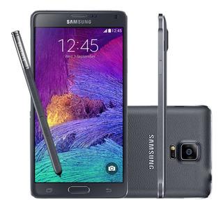 Samsung Galaxy Note 4 Semi Novo 32gb Com S Pen - 4g - Preto