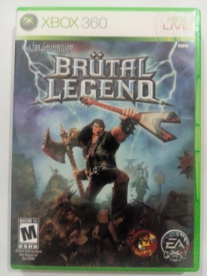 Brutal Legend P/ Xbox 360 Original Frete Cr $14