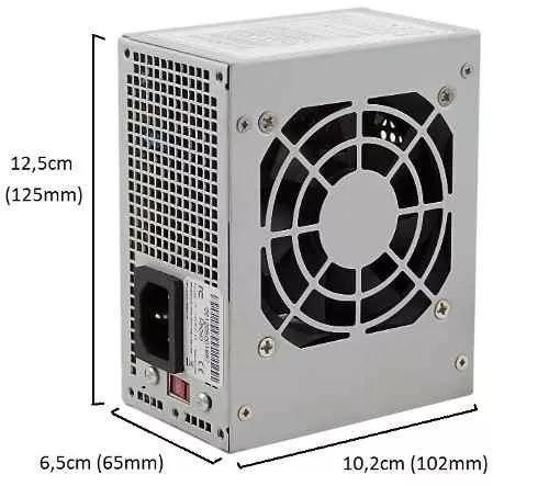 Fonte Itx Mini 230w Reais Satellite Lc-8360sfx