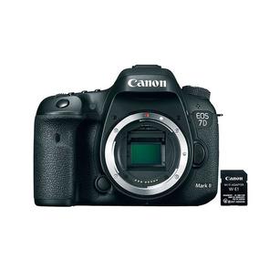 Câmera Canon Eos 7d Mark Ii Corpo+ Adapt Wi-fi W-e1 Preto