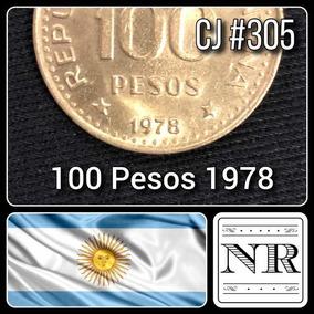 Argentina - 100 Pesos - Año 1978 - Cj # 305 - Km # 82