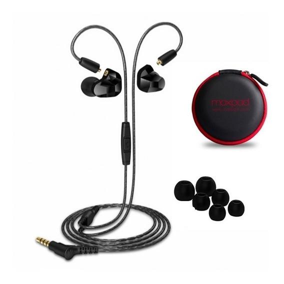 Fone In Ear Moxpad X9 Retorno Palco Esporte Profissional