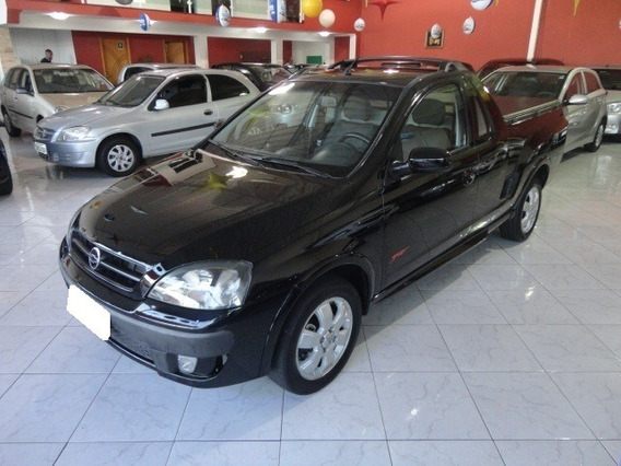 Chevrolet Montana Sport 1.8 Preta Flex 2p Manual 2006