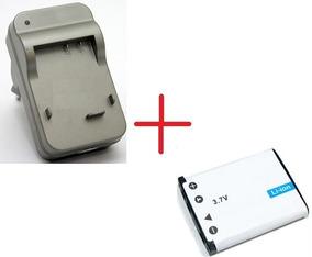 Kit Bateria + Carregador Olympus Tough X-845 Camera Digital