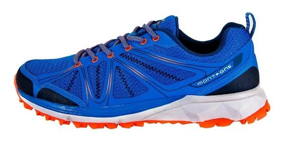Zapatillas Montagne Maubic Azul