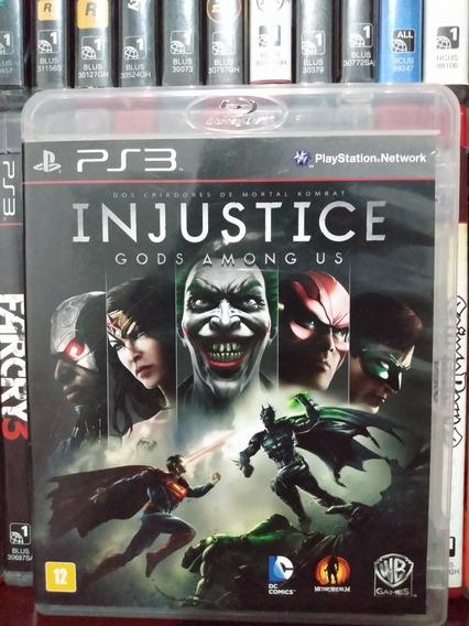 Injustice Gods Among Us Completo Ps3 |parcelamento Sem Juros