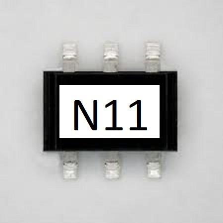 N11 Smd Rt3n11m-t111 10 Unidades
