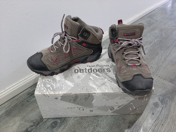 Zapatillas Hush Puppies Trekking/outdoor Mujer 38! Excelente