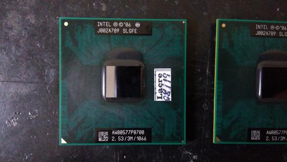 Processador Intel® Core2 Duo P8700 Cache De 3 M, 2,53 Ghz