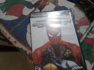 Spider-man Web Of Shadows Ps2 Usado