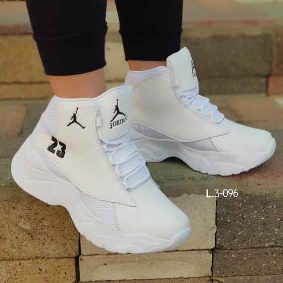 Tenis Jordan Mujer Blancos - Ropa y Accesorios en Mercado ...