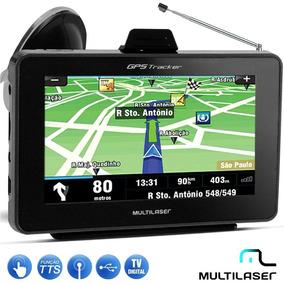 Gps Multilaser Tracker Com Tela 4.3 Touch Screen Mp3 Tv D...