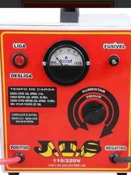 Carregador De Bateria Portátil 50a Com Auxiliar De Partida