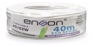 Cable Alarma Rollo Enson 32202w040 4c/22w Eco 40mts