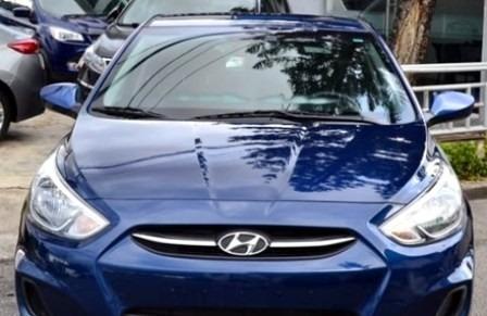 Hyundai Accent Azul Americano 16