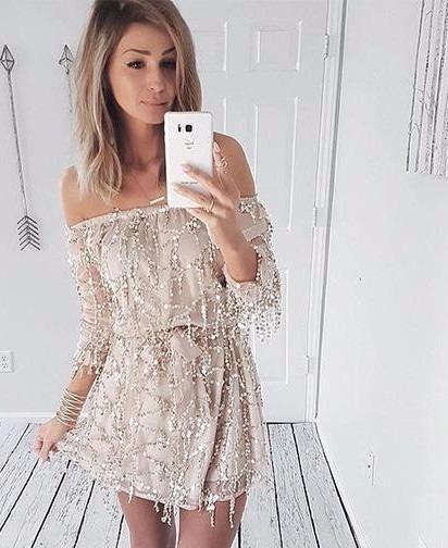 Vestido Lindo Creme Panicat Curto Mulheres Verão Importado